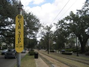 streetcar sign